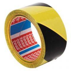 yellow&black hazard warning tape