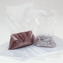 various sizes of clear plastic bags