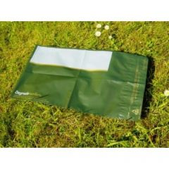 Olive Green Reusable Mailing Bags