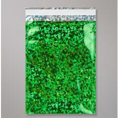 green foil bags