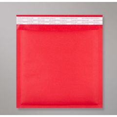 kraft red bubble lined bags